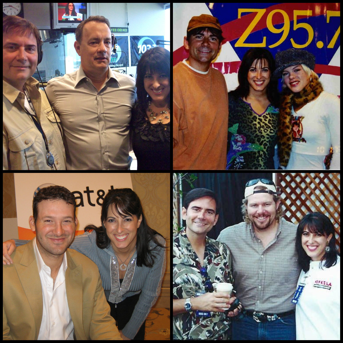 Some fun guests on The Gene & Julie Show over the years... Academy Award winner Tom Hanks, Grammy Award winner P!nk, Dallas Cowboys Quarterback Tony Romo and CMA winner Toby Keith